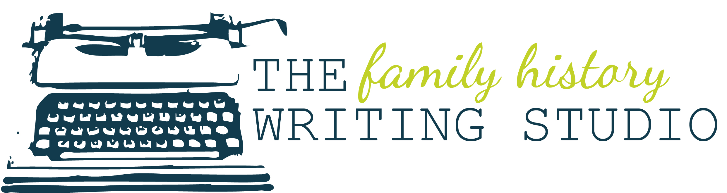 The Family History Writing Studio Logo