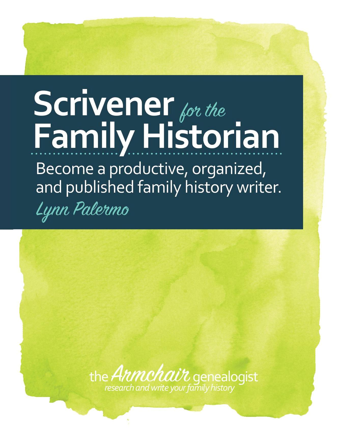 compiling a family history book